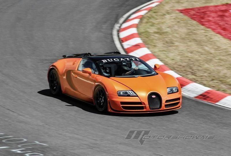 bugatti at the nurburgring 24 hours race. Black Bedroom Furniture Sets. Home Design Ideas