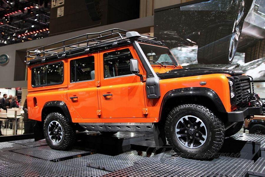 2015 Defender Adventure Edition Is Designed For Customers