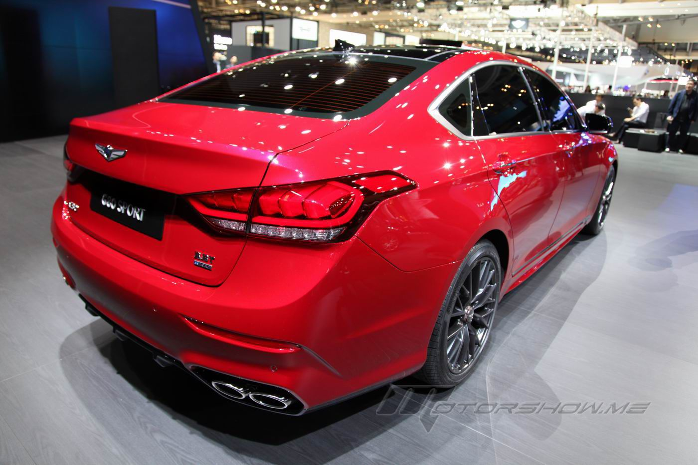 2016 Genesis G80 Sport Powered By A 370 Hp 3 3 Litre Twin