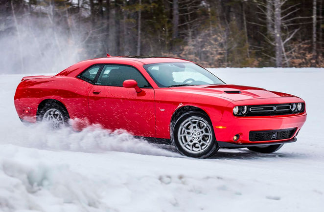 Enjoy The All Wheel Drive System In The 2017 Dodge