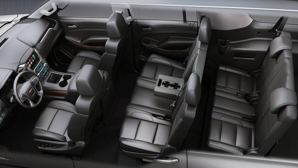 تطوير مزايا السلامة والتوصال في سيارة جي أم سي يوكون طراز 2017