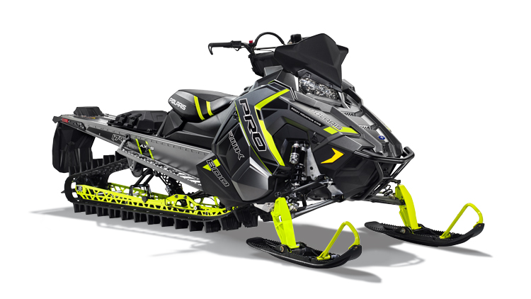 2017 Polaris 800 PRO RMK 174 LE: Limited Edition Features