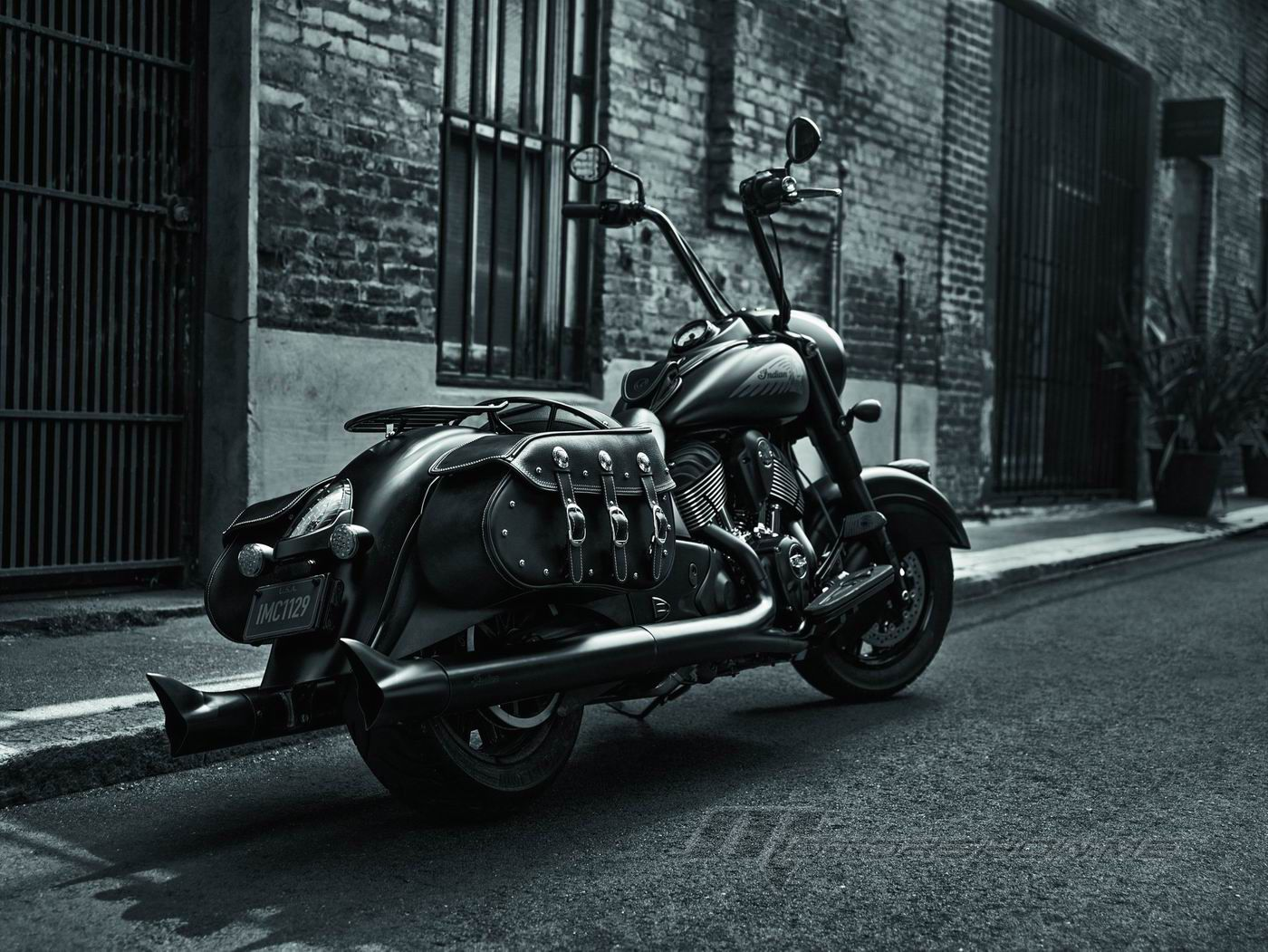 2017 Indian Motorcycle Chief Dark Horse Less Chrome More