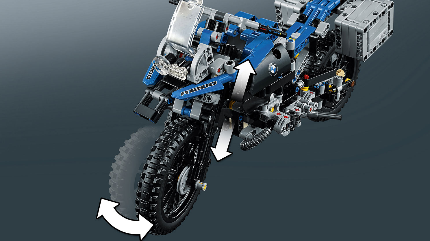 BMW Unveils a Flying Motorbike Concept Based on Lego