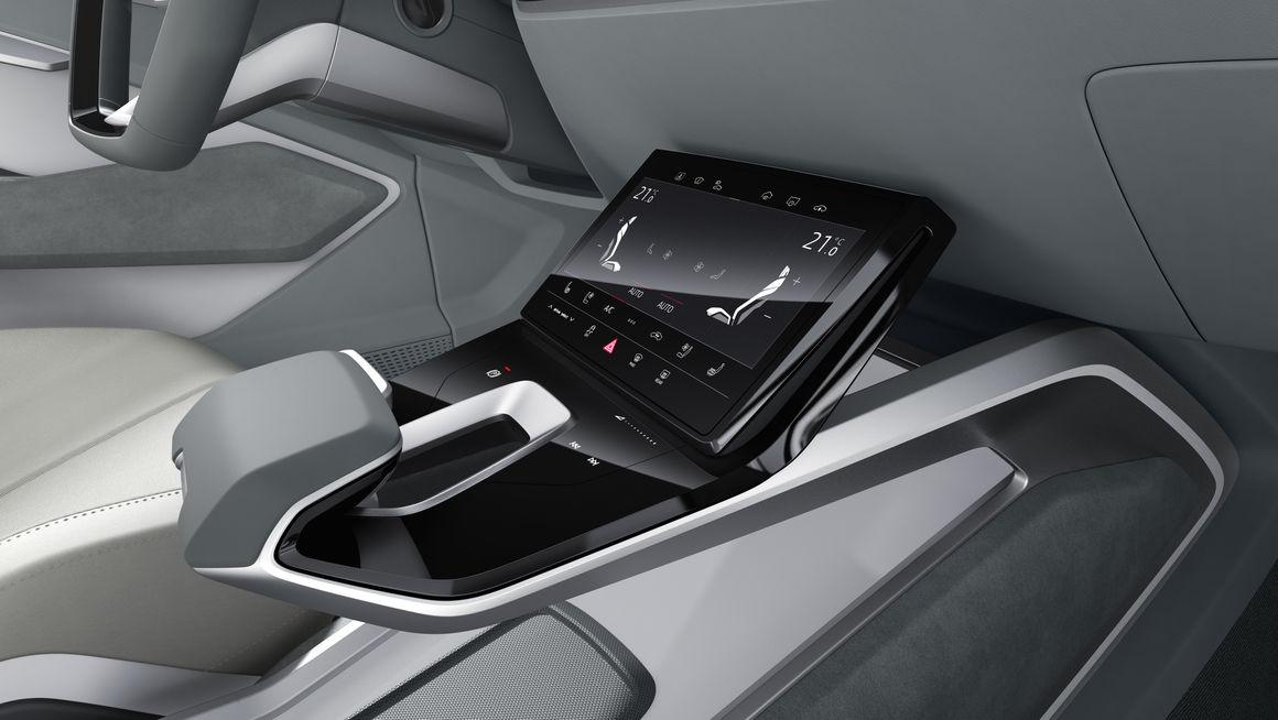 The Architecture of E mobility: Audi e tron Sportback Concept
