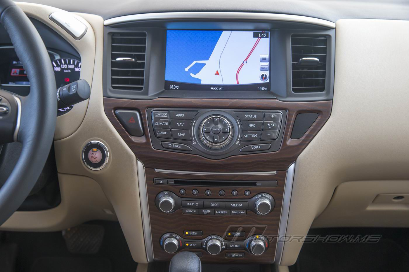 2018 nissan pathfinder interior. simple nissan the enhancements to the pathfinder interior for 2018 focus on convenience  and connectivity for example cupholders have been reshaped accommodate  nissan pathfinder s