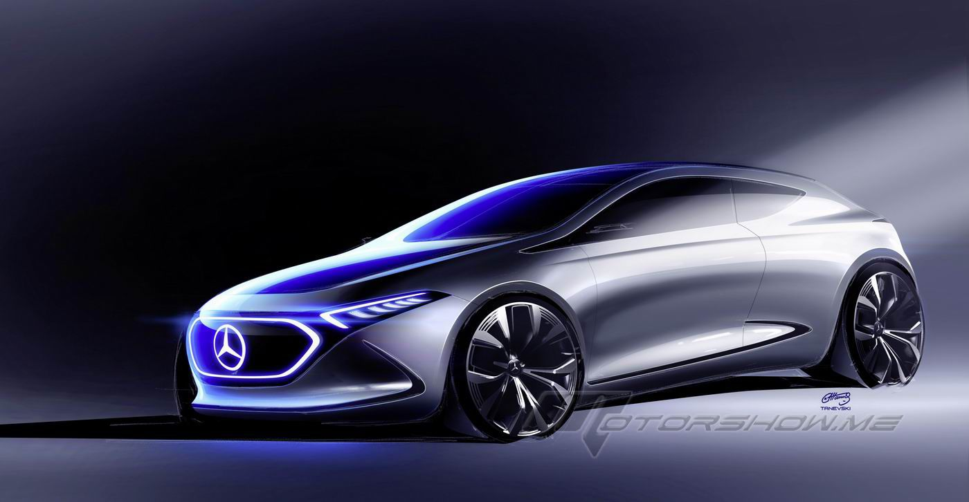 2018 mercedes benz concept eqa a new electric initiative for Mercedes benz newest car
