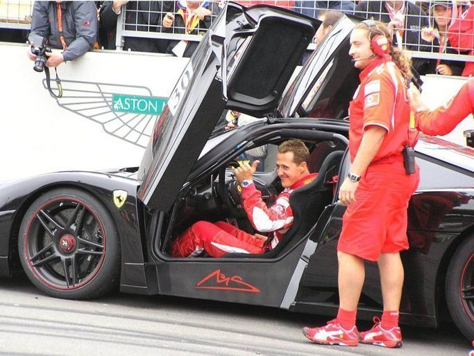 World Fastest Car >> Michael Schumacher's Car Collection