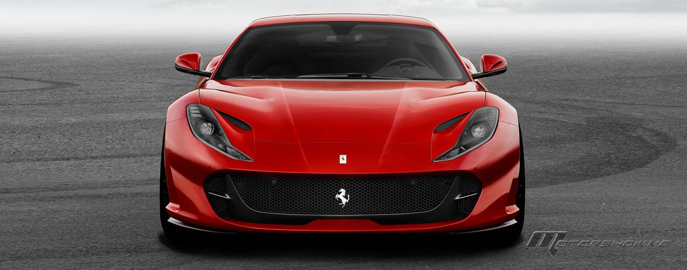 V12 Engine Powered 2018 Ferrari 812 Superfast