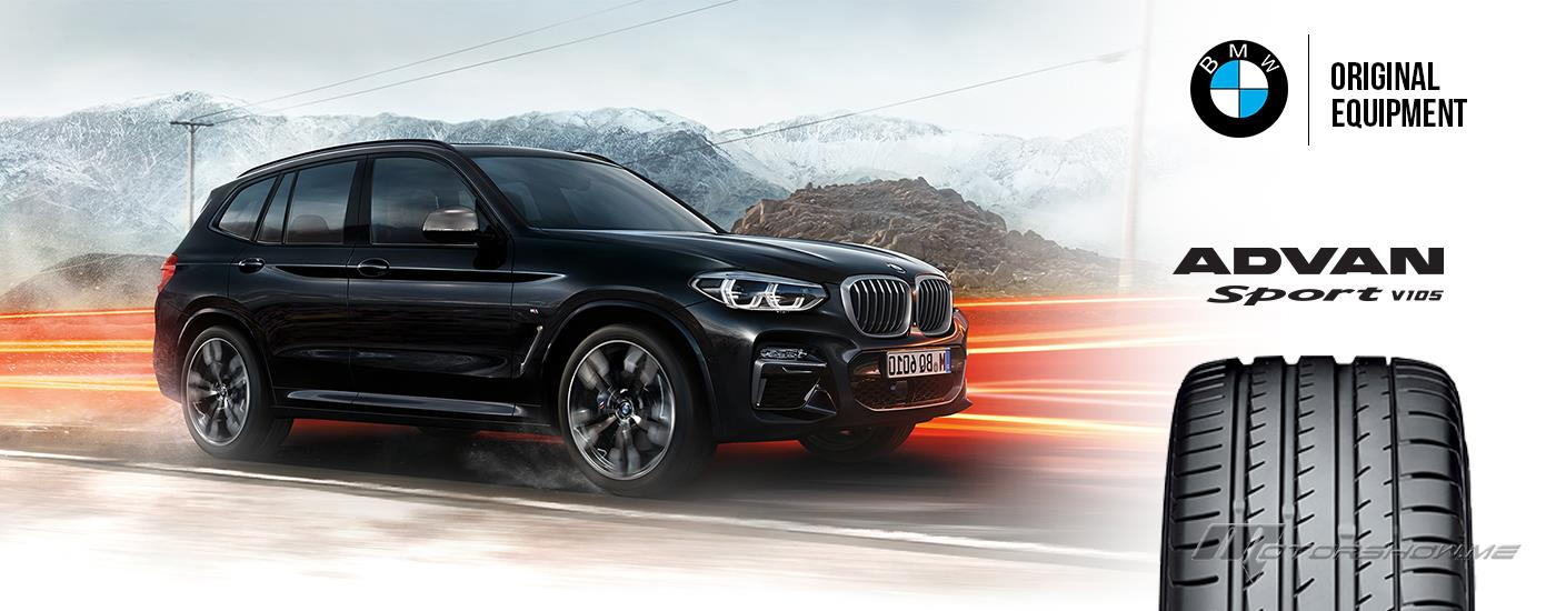 Yokohama Tires to Come Factory-Equipped On the New BMW X3 M Model