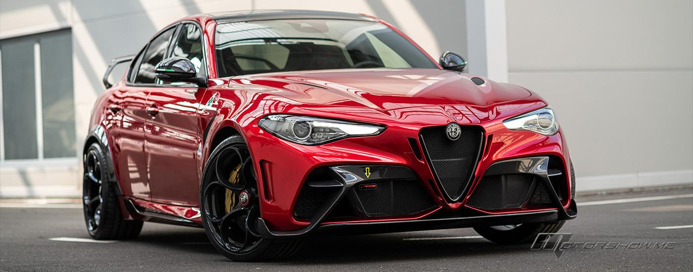 In Pictures: the New Alfa Romeo Giulia GTA!