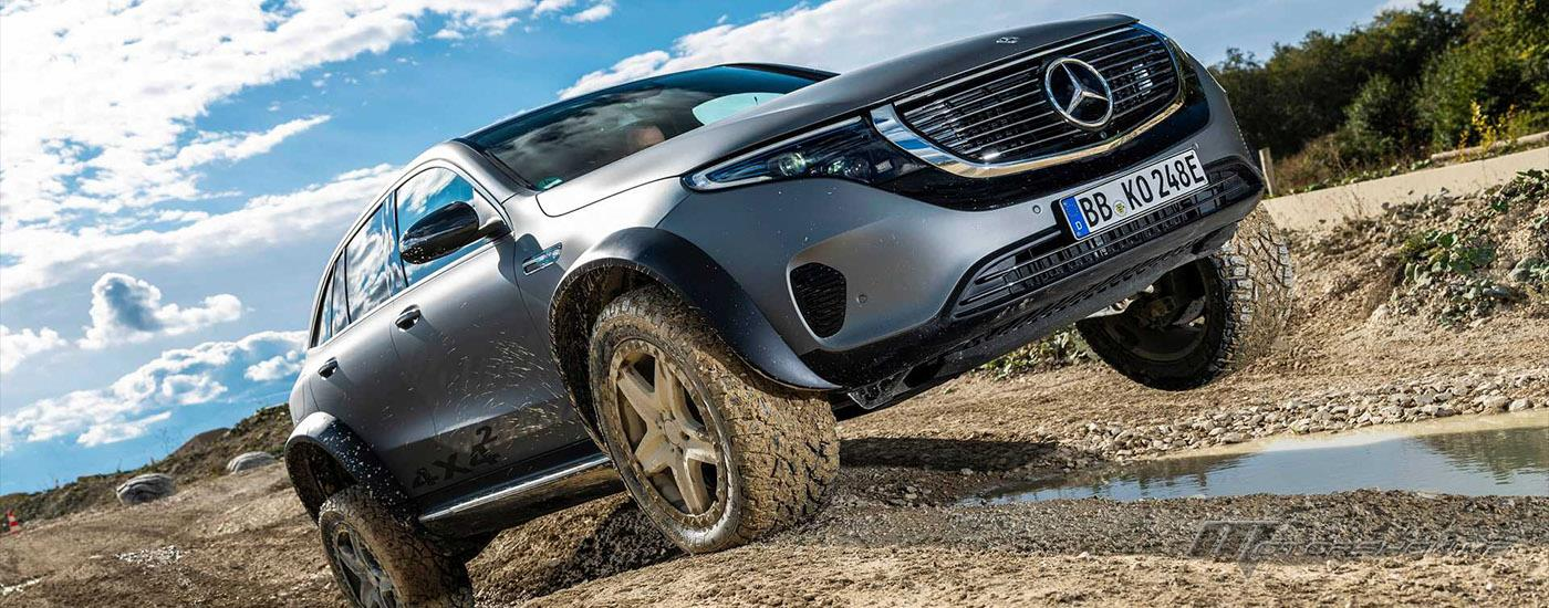 "In Pictures: Mercedes-Benz Unveils Electric ""EQC 4x4 Squared"" Concept!"