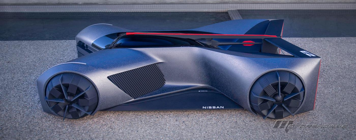 Nissan Design Brings Intern's GT-R (X) 2050 to Life