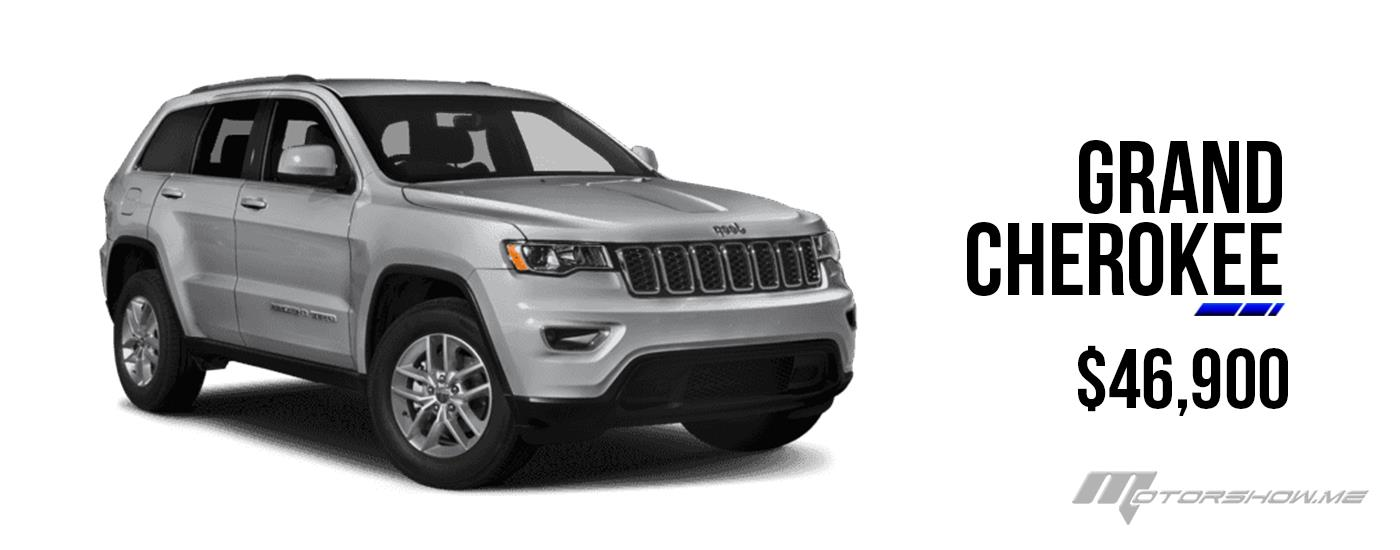 The New Grand Cherokee Now At 46,900$ in Lebanon