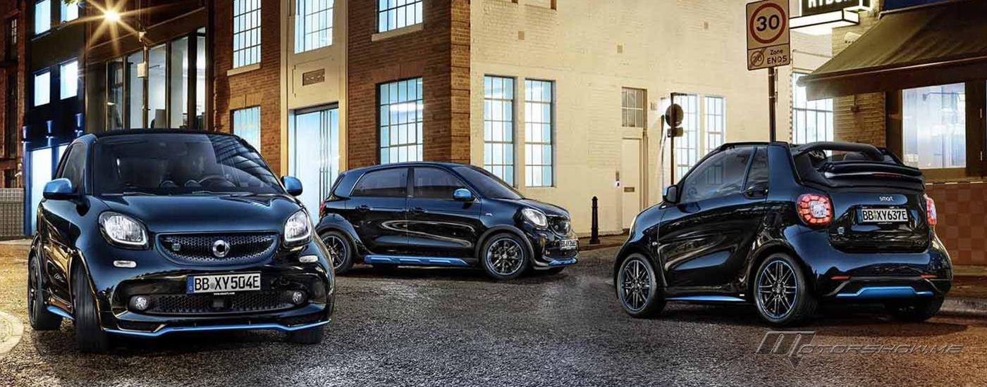 The New Smart EQ fortwo and forfour Zero Driving Emissions