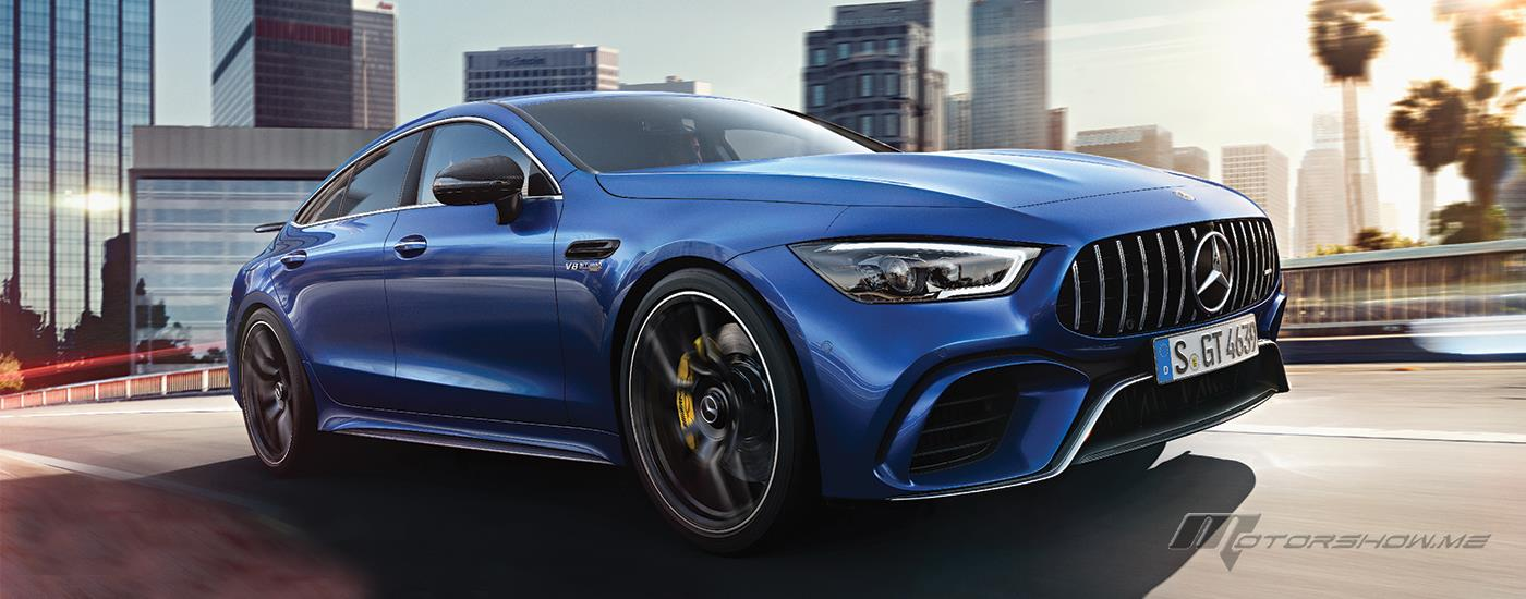 The All-New Mercedes-AMG GT 4-Door Coupé Unveiled in Lebanon