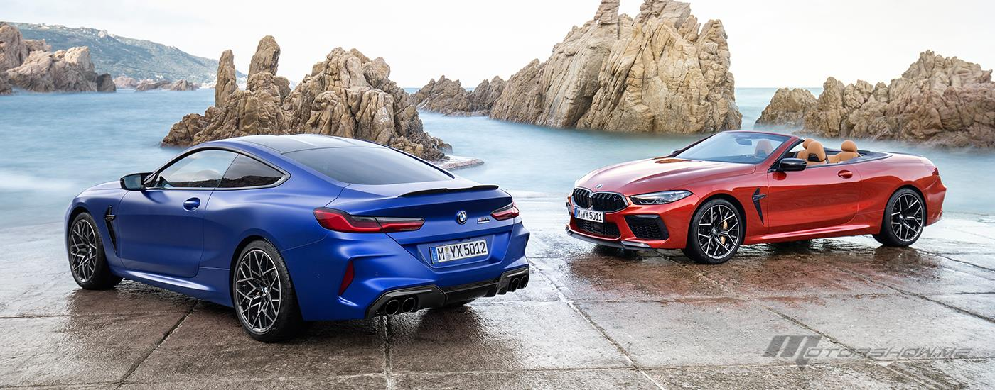 Introducing The 2020 BMW M8 Coupé and Convertible