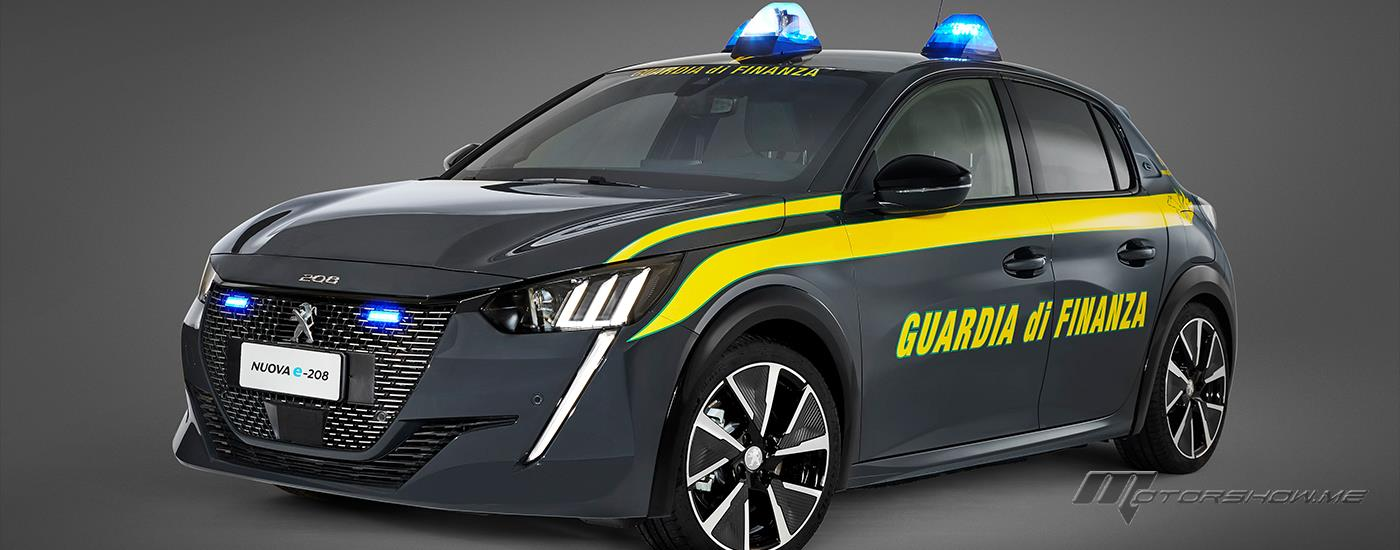 "Peugeot and the ""Guardia Di Finanza"" To Renew Their Collaboration for A Zero Emission Energy Transition"