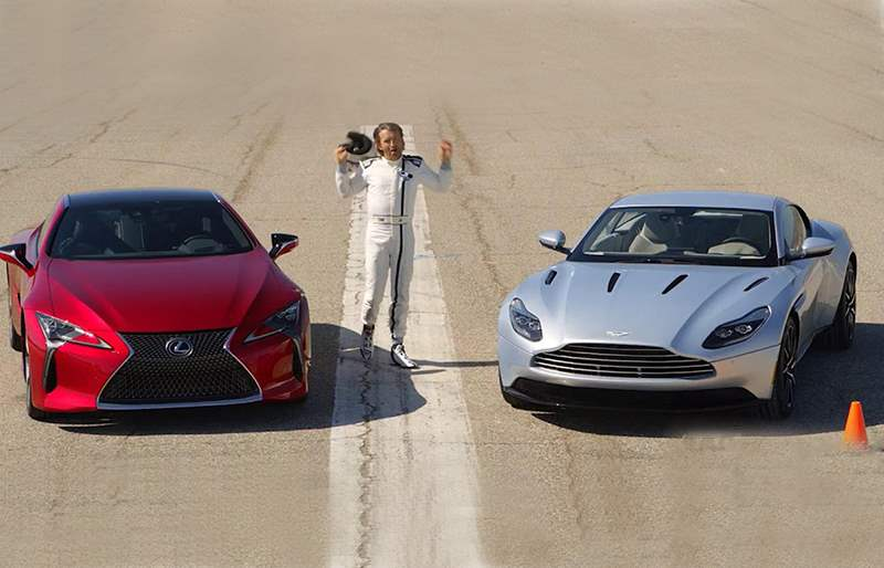 Aston Martin DB11 V12 Coupe VS. Lexus LC 500