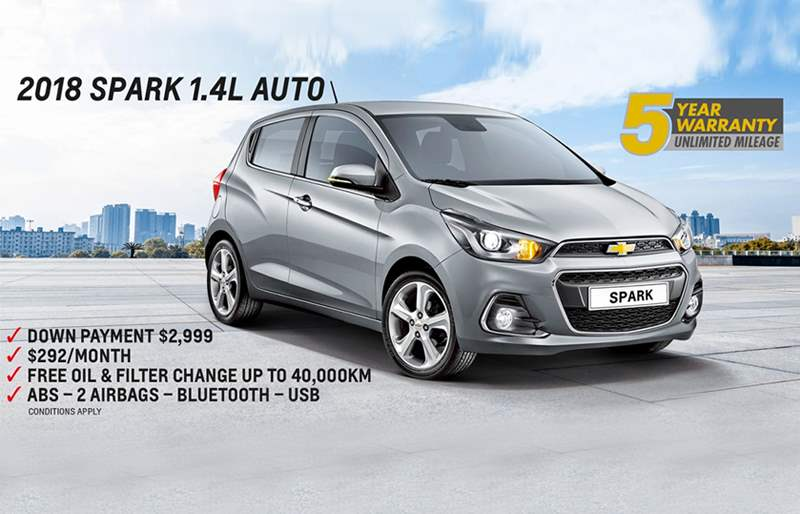 Chevrolet Spark - 292$/month in Lebanon