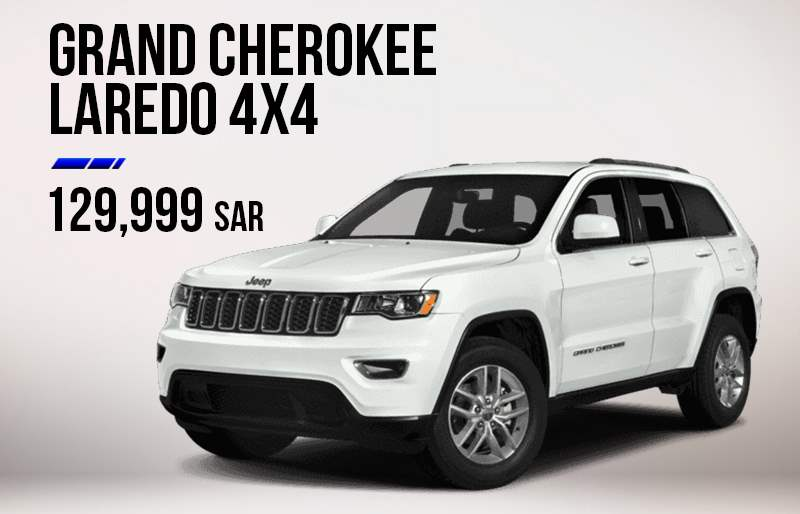 Jeep Grand Cherokee Laredo Offer in KSA