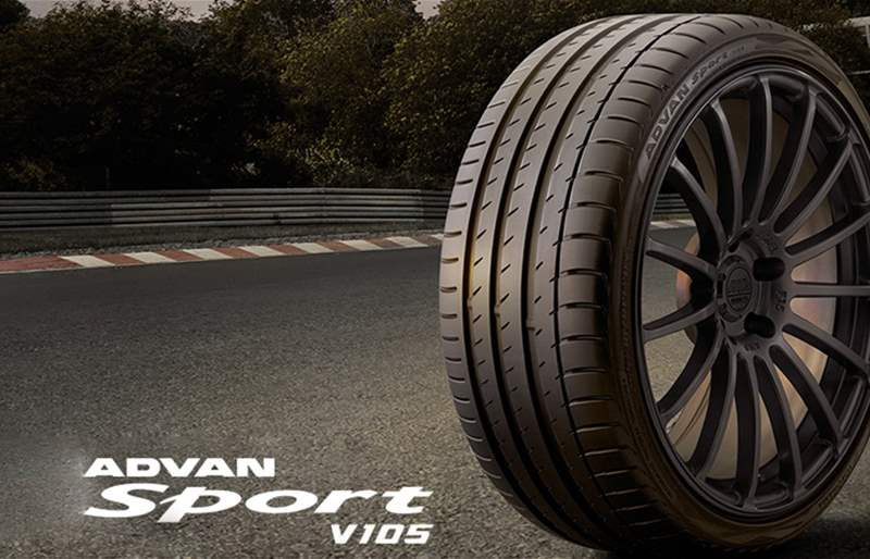 BMW M5 is Factory-Equipped with Yokohama's Advan Sport V105