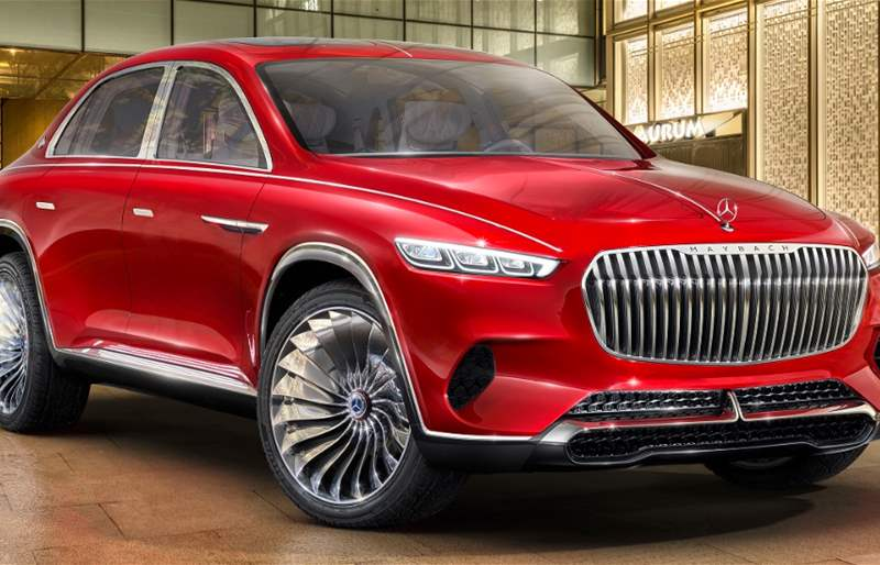 Vision Mercedes-Maybach Ultimate Luxury: Motoring at The Highest Level