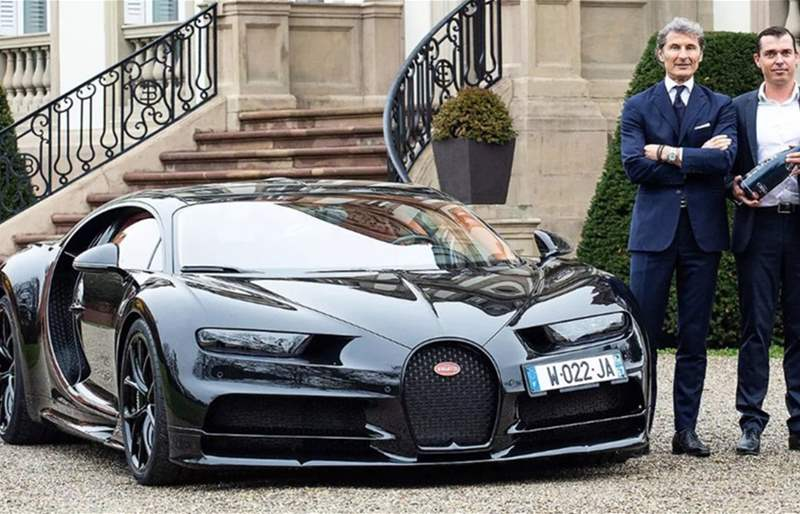 Bugatti and Champagne Carbon Toast to Their New Partnership