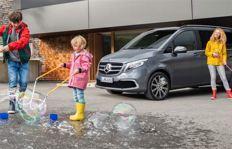 Facelift for the Mercedes-Benz MPV: The All-New V-Class