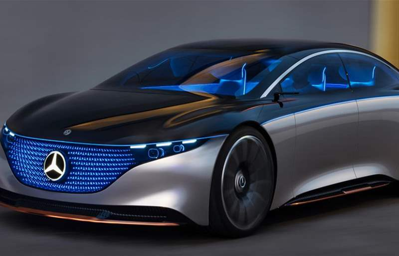 World Premiere of the Mercedes-Benz Vision EQS at IAA 2019