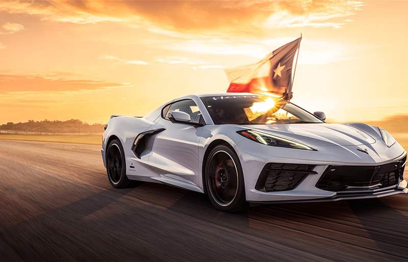 Hennessey Builds the First C8 Corvette to Break the 321.8 KPH Barrier