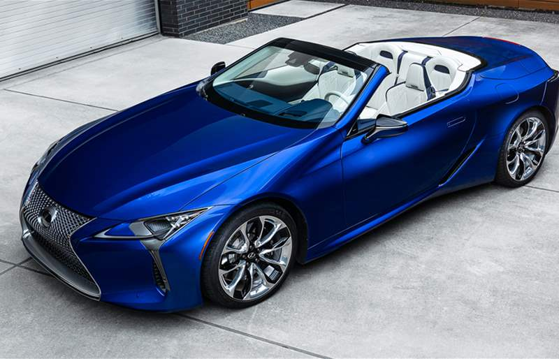 In Pictures: The New Lexus LC Convertible Regatta Edition!