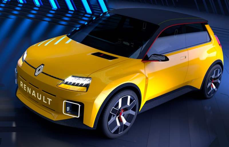 The All-New Renault 5 EV Prototype Will Be Produced By 2025
