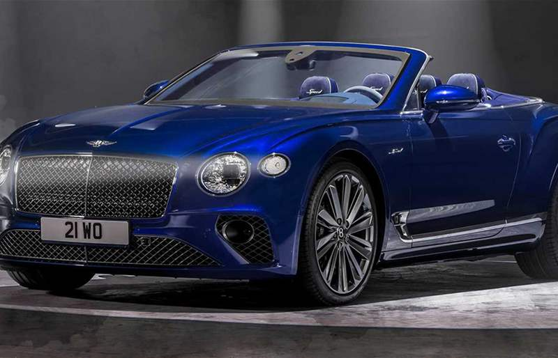 Introducing the 2022 Bentley Continental GT Speed Convertible