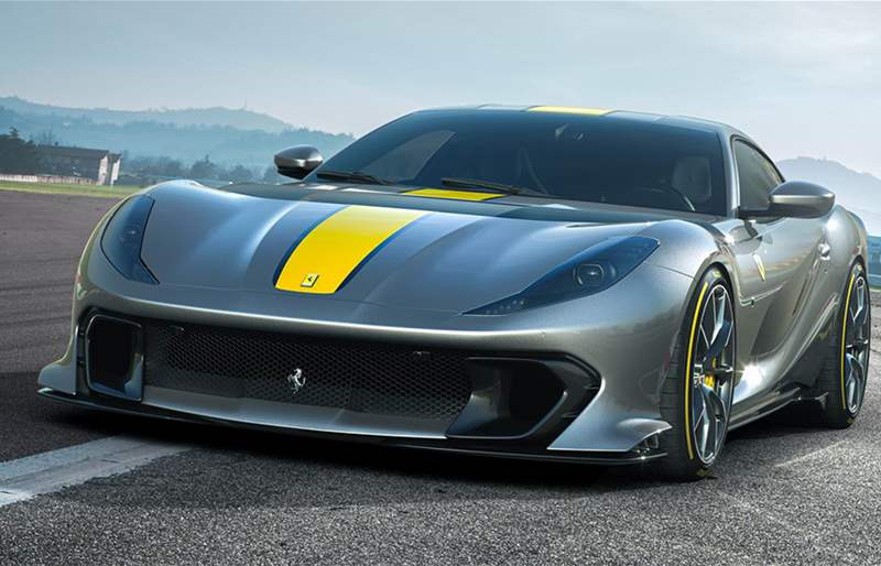 Ferrari Has Revealed the First Official Photos of Its New Limited Edition V12