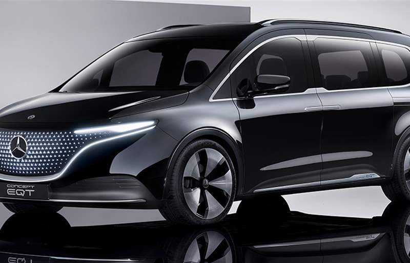 Mercedes-Benz Unveiled EQT Electric Minivan