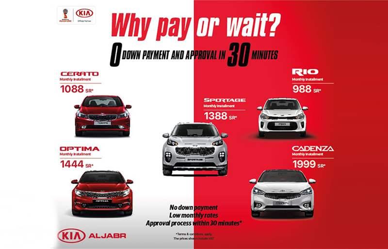 Kia Offers in KSA