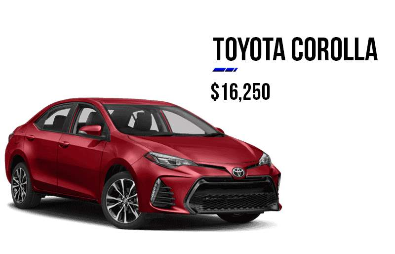 Ramadan Offer - Toyota Corolla 2018 at 16,250$