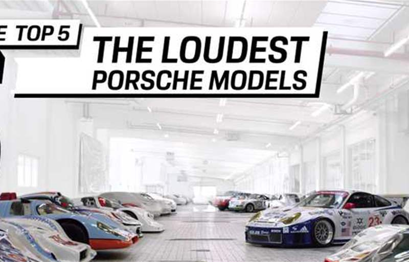 Discover The Top 5 Loudest Porsche Models