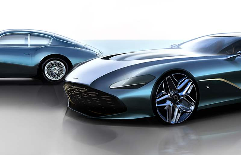 Detailed Renderings of the All-New Aston Martin DBS GT Zagato
