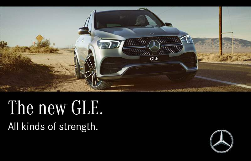 The new GLE. The SUV trendsetter is now in Lebanon.