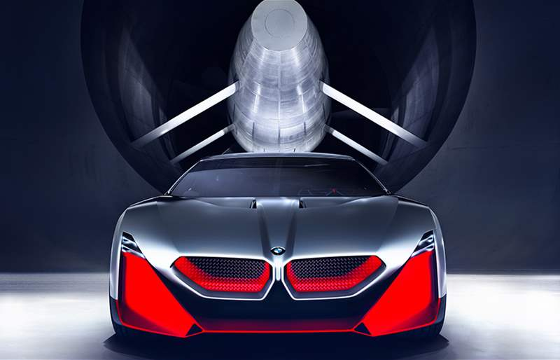 BMW Vision M Next: The Future of Dynamic Driving