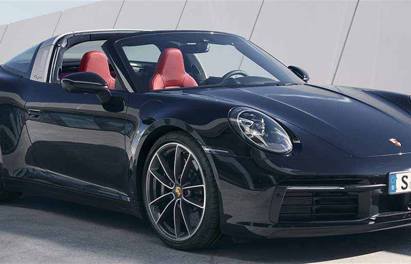 The All-New Porsche 911 Targa is Revealed