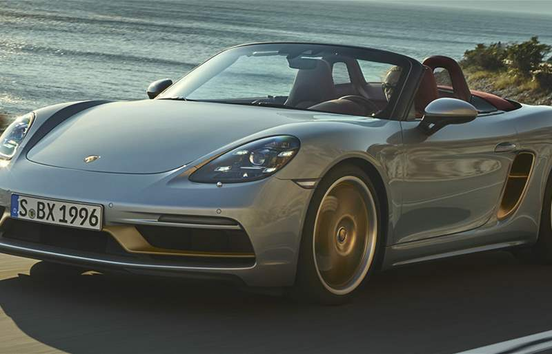 Porsche Celebrates Boxster 25th Anniversary with Limited-Edition Model!