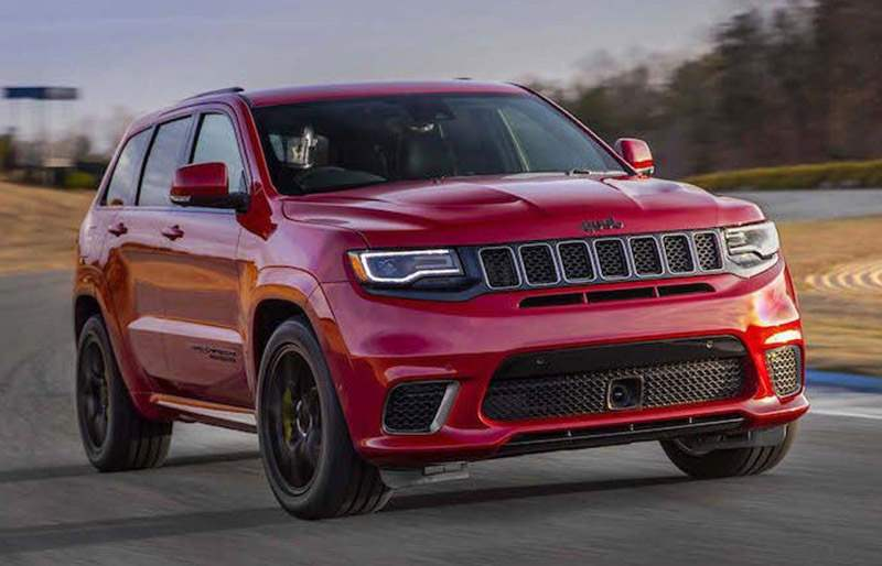 707HP Jeep Trackhawk VS HPE800 Escalade