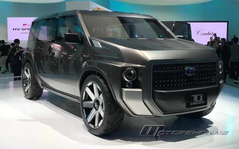 Toyota Tj Cruiser Concept A New Next Generation Tnga Platform