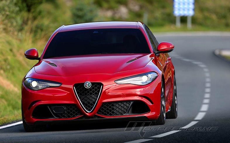 Alfa Romeo Giulia Quadrifoglio Bold Symbols And Original Shape