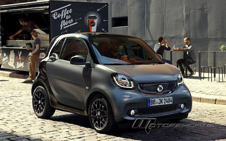 Smart fortwo: Driving Pleasure and Agility