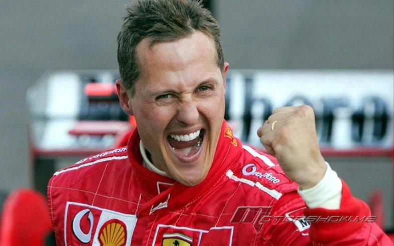 Michael Schumacher is Still Fighting