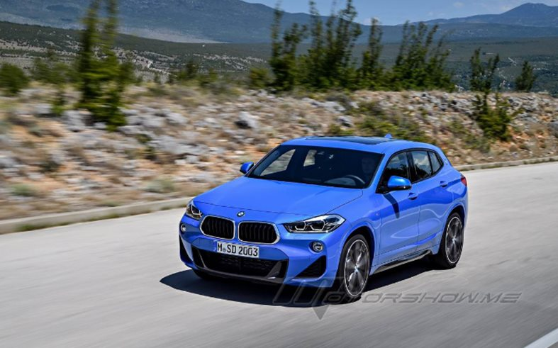 2018 BMW X2 sDrive20i: A Distinctive Design